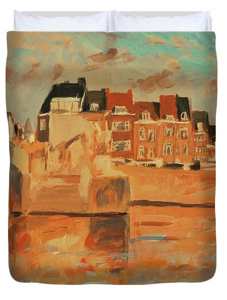 Indian Summer Light Maastricht Duvet Cover