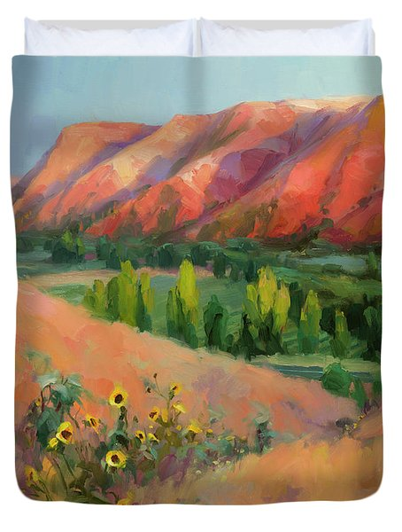Indian Hill Duvet Cover