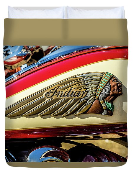 Indian Tank Duvet Cover