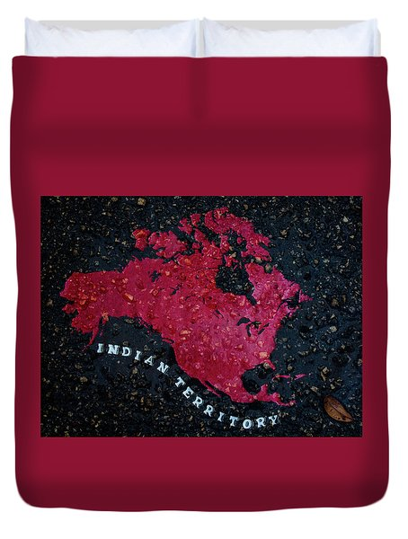 Indian Territory Duvet Cover