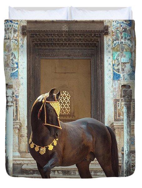 Indian Treasure Duvet Cover