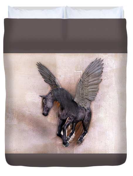 Indian Wind Song Duvet Cover