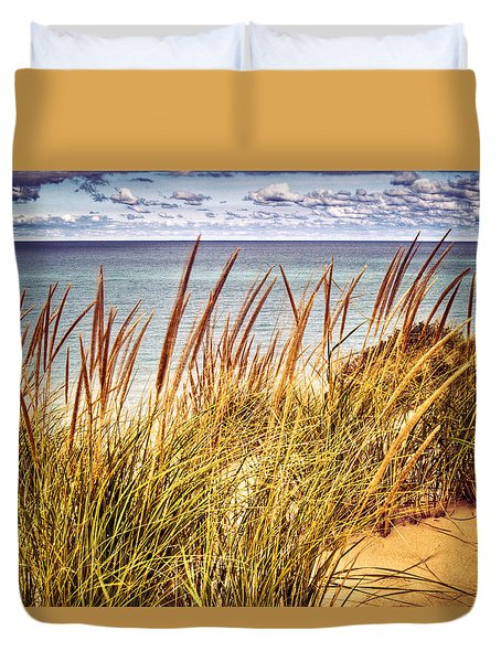 Indiana Dunes National Lakeshore Duvet Cover