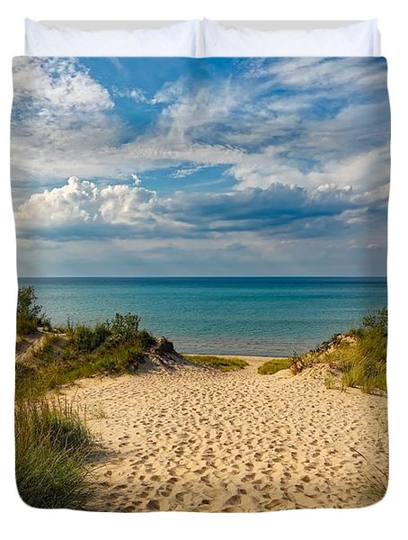 Indiana Dunes State Park Duvet Cover