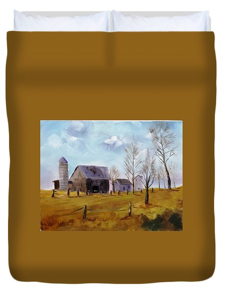 Indiana Farm Duvet Cover