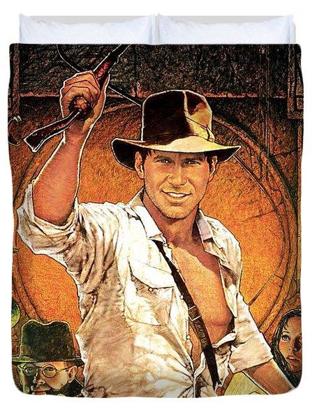 Indiana Jones Raiders Of The Lost Ark 1981 Duvet Cover