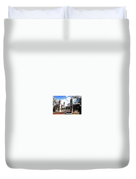 Indiana University Gates Duvet Cover