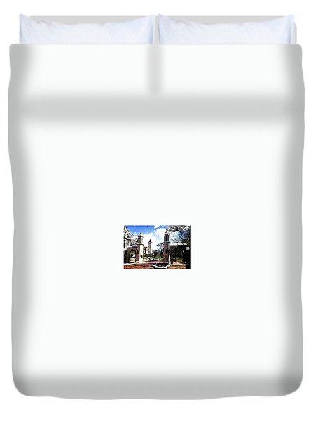 Indiana University Gates Duvet Cover