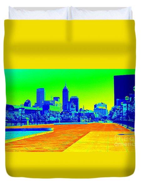 Indianapolis Heat Tone Duvet Cover