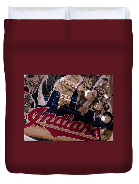 Indians Rock Duvet Cover