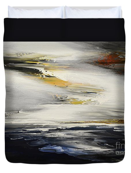 Indifference To Fate Duvet Cover