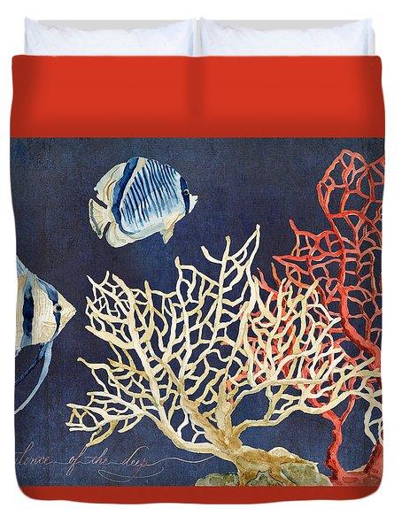 Indigo Ocean - Silence Of The Deep Duvet Cover