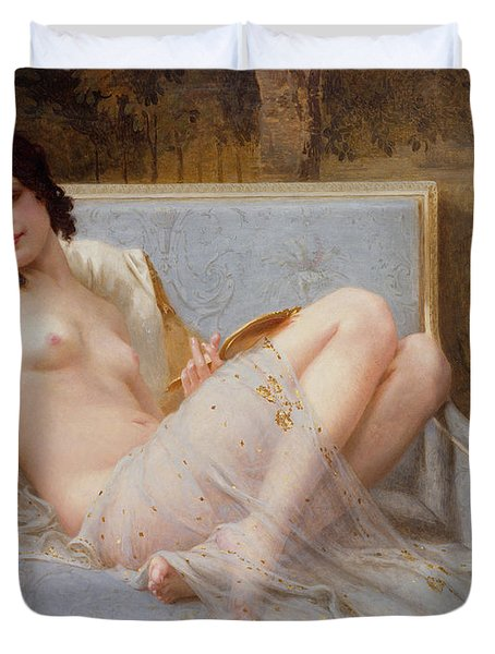 Indolence Duvet Cover by Guillaume Seignac