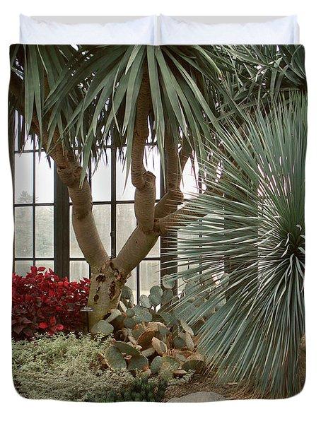 Indoor Garden Duvet Cover