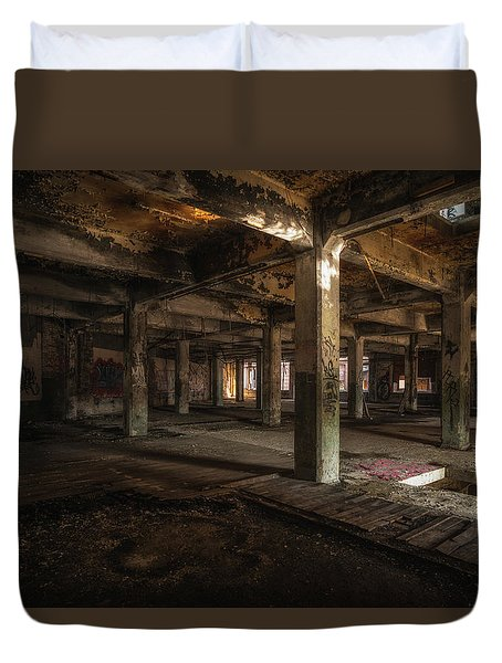 Industrial Catacombs Duvet Cover