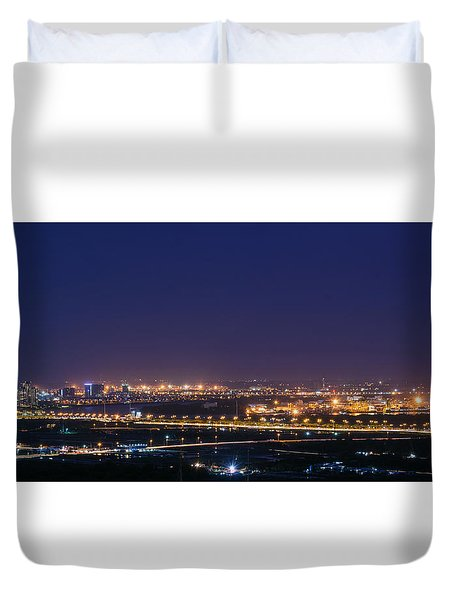 Industrial City Duvet Cover