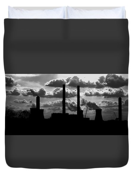 Industrial Night Duvet Cover