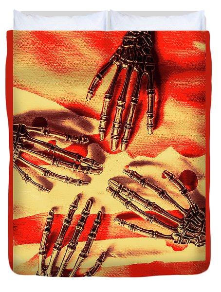Industrial Death Machines Duvet Cover