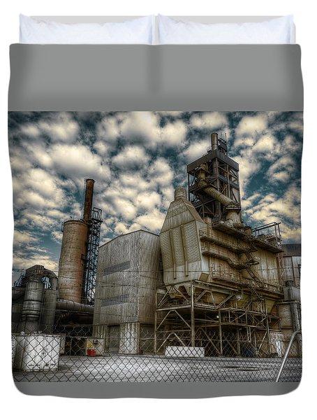 Industrial Disease Duvet Cover