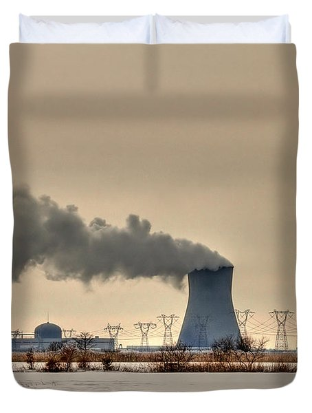 Industrialscape Duvet Cover
