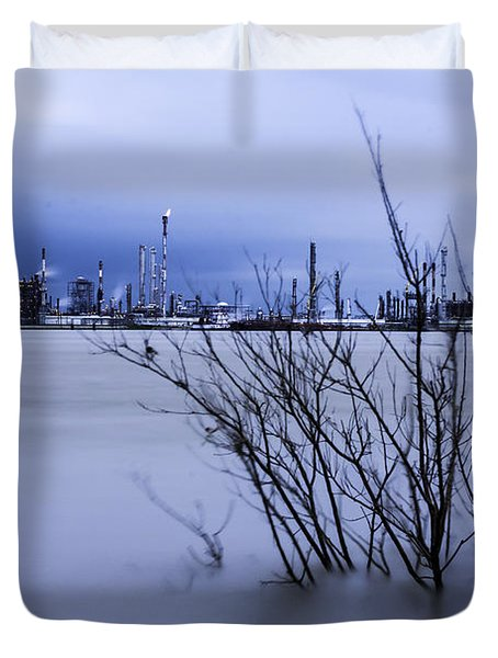 Industry In Color Duvet Cover