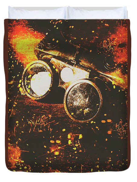 Industry Of Artistic Creations Duvet Cover