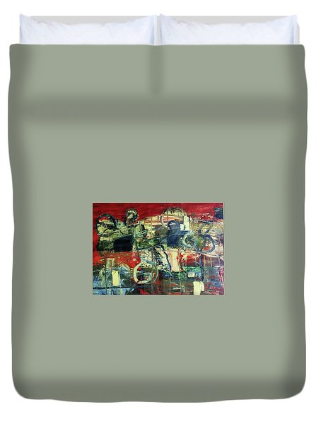 Indy 500 Duvet Cover