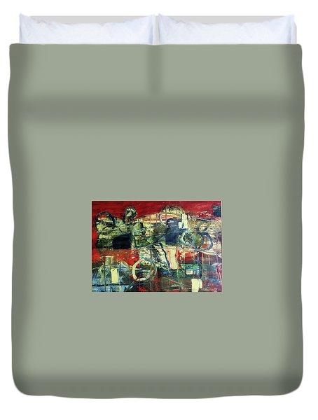 Indy 500 Duvet Cover