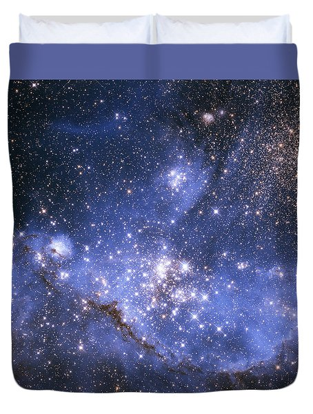 Infant Stars In The Small Magellanic Cloud  Duvet Cover