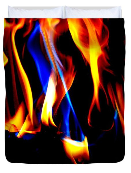 Inferno Vii Duvet Cover