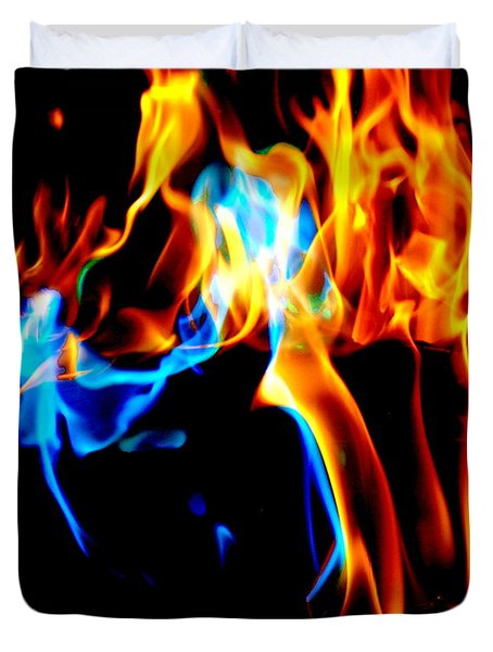 Inferno X Duvet Cover