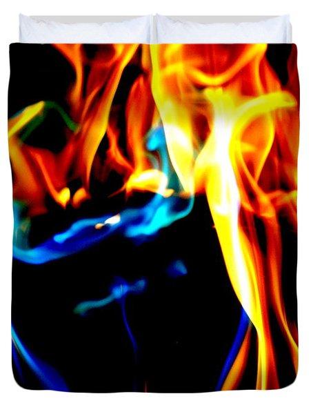 Inferno Xiv Duvet Cover
