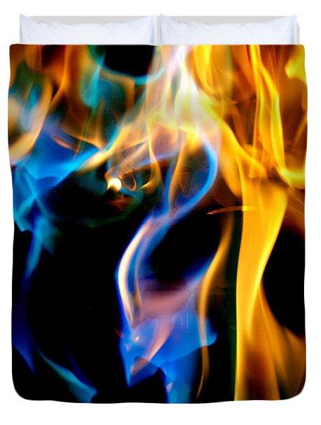 Inferno Xvi Duvet Cover