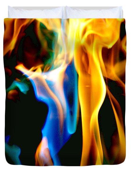 Inferno Xvii Duvet Cover
