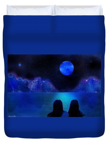 Duvet Cover featuring the photograph Infinite Dreams by Bernd Hau