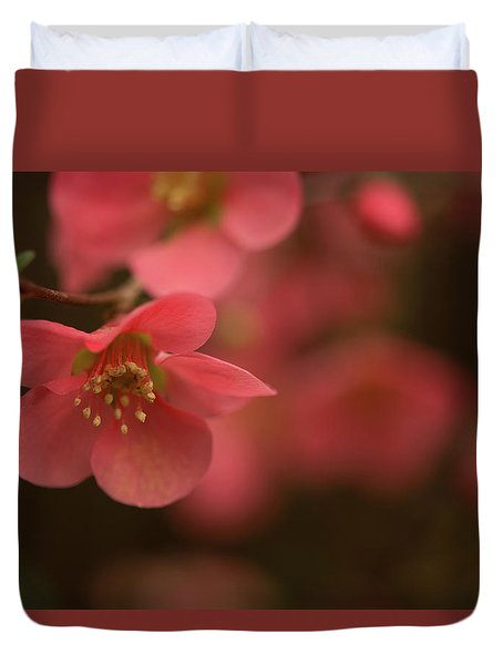 Infinite Pink Duvet Cover