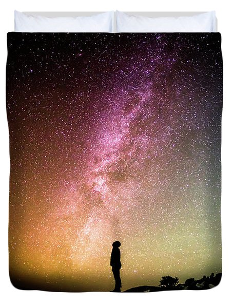 Infinite Possibilities Duvet Cover by Happy Home Artistry
