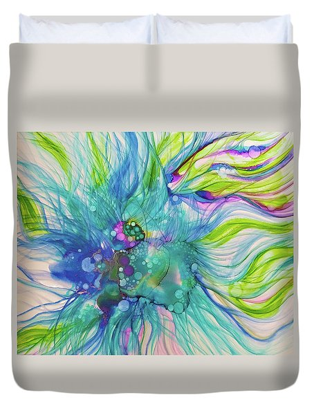Infinite Unknowns Duvet Cover