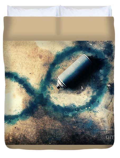 Infinity And Forever  Duvet Cover