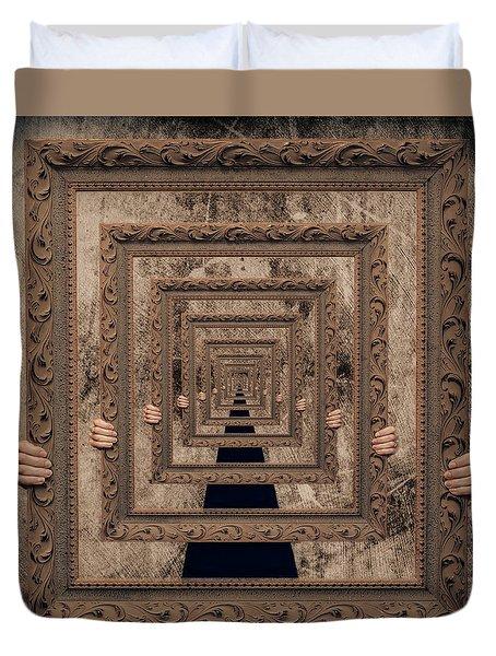 Infinity Duvet Cover by Anna Rumiantseva