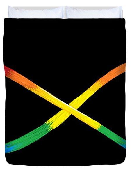 Infinity Spectrum Duvet Cover