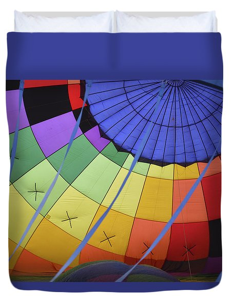 Inflation Time Duvet Cover