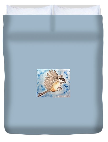 Inflight - Cropped Duvet Cover