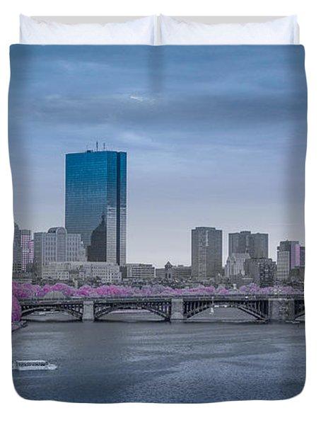 Infrared Boston Duvet Cover