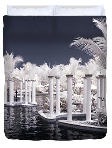 Infrared Pool Duvet Cover