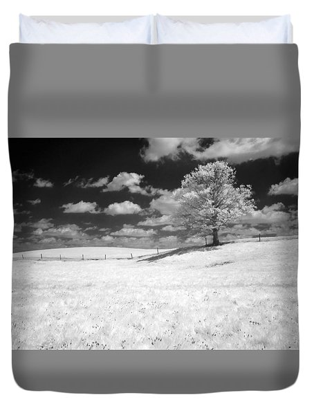 Infrared Tree Duvet Cover