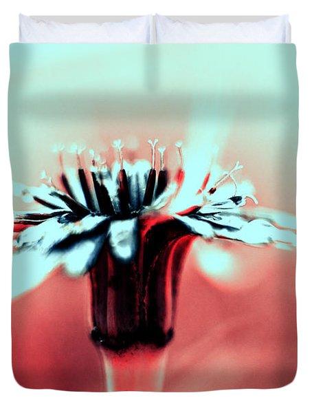 Infrared Wildflower Duvet Cover