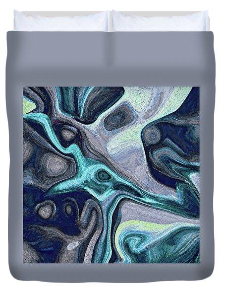 Inhabited Space #5 Duvet Cover