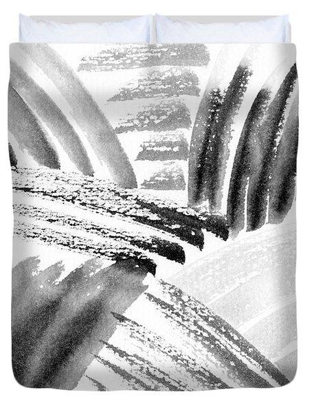 Ink Fields Duvet Cover