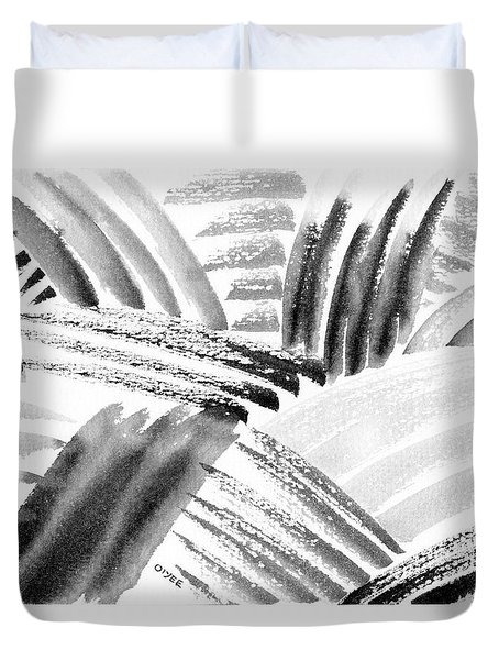 Ink Fields Duvet Cover